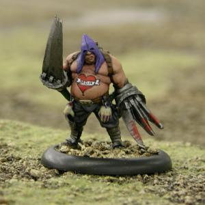 Malifaux Guild Executioner - front