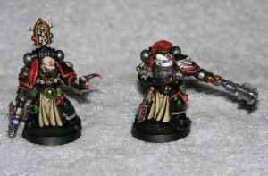 Black Templar's Sword Brethren Squad Leader