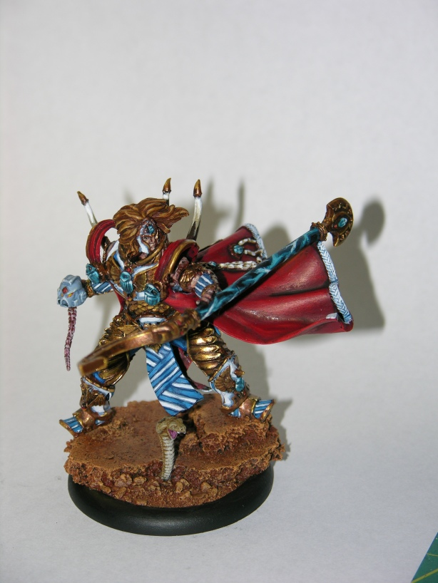 Kabuki Miniatures - Scarab Knight Magnus the Red